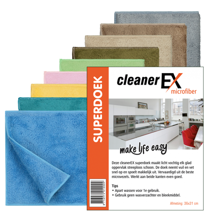 cleanerex_superdoek 9 kleuren